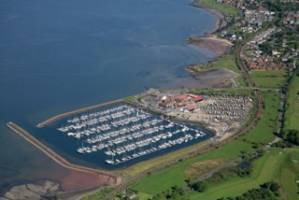 arial photo largs