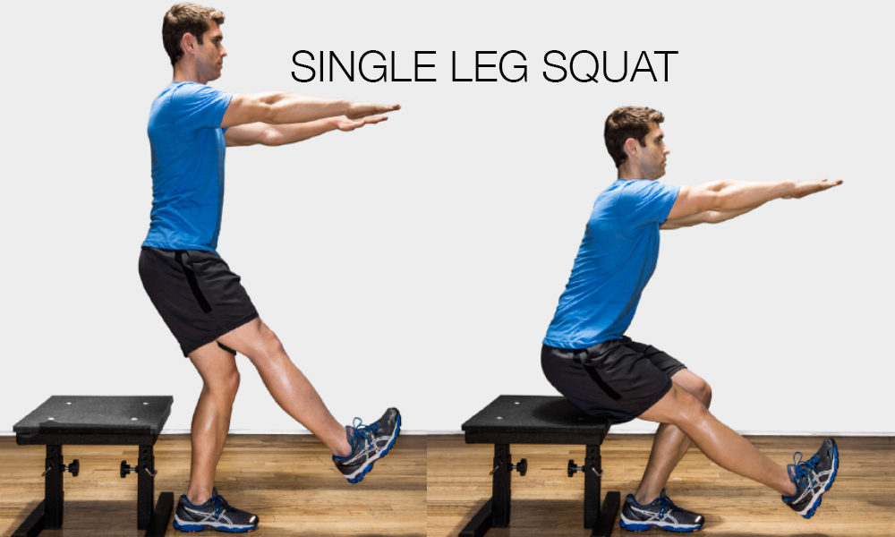 Image result for Single Leg Squats: